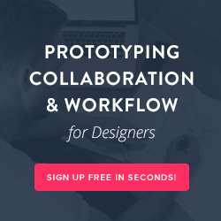 Ad for InVision App, Inc prototying platform.