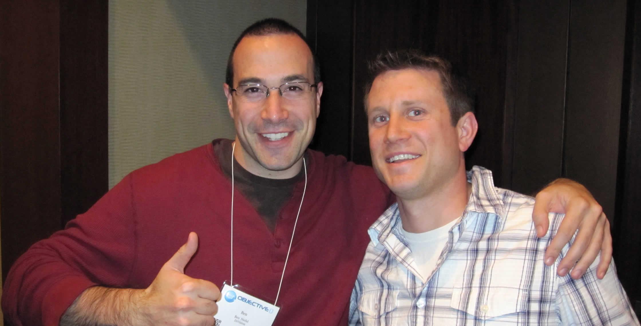 Ben Nadel at cf.Objective() 2012 (Minneapolis, MN) with: Adam Lewis