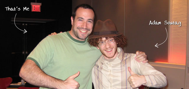 Ben Nadel at jQuery NYC (Oct. 2009) with: Adam Sontag
