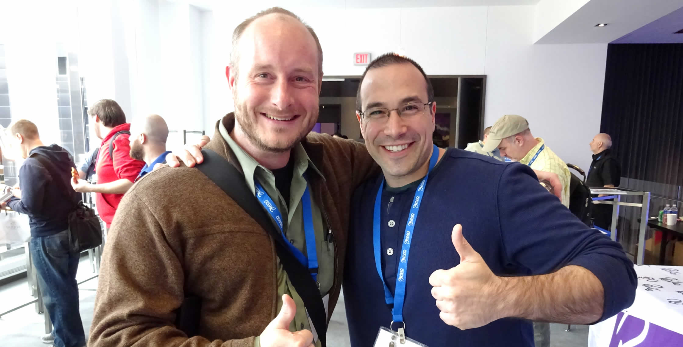 Ben Nadel at cf.Objective() 2014 (Bloomington, MN) with: Alec Irwin