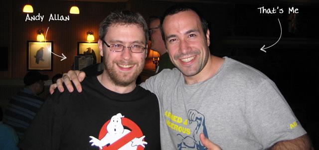 Ben Nadel at CFUNITED 2009 (Lansdowne, VA) with: Andy Allan
