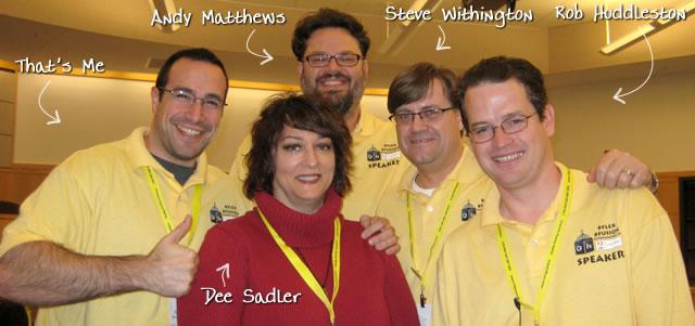 Ben Nadel at BFusion / BFLEX 2009 (Bloomington, Indiana) with: Andy Matthews, Steve Withington, Rob Huddleston, and Dee Sadler