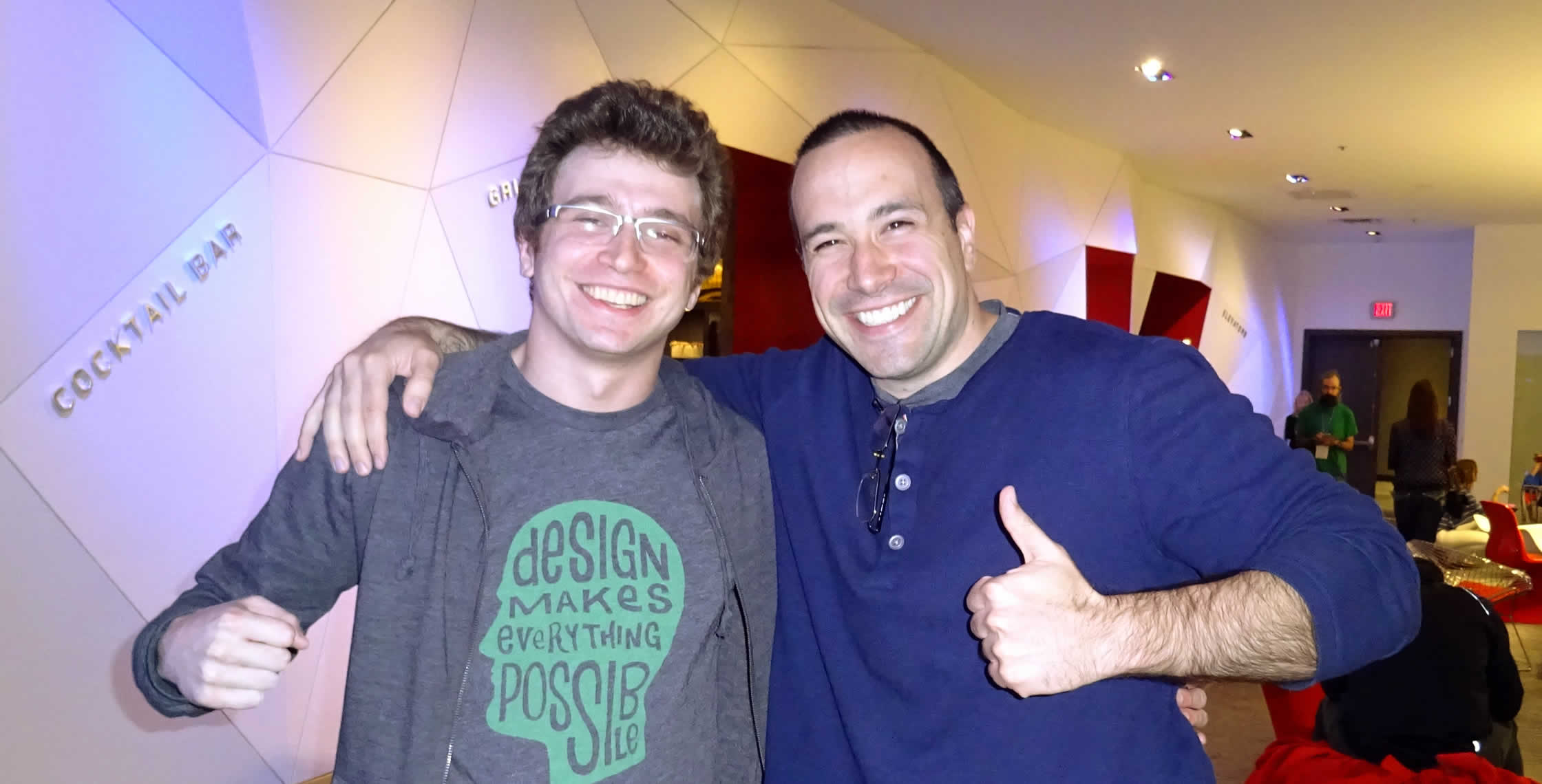 Ben Nadel at cf.Objective() 2014 (Bloomington, MN) with: Asher Snyder