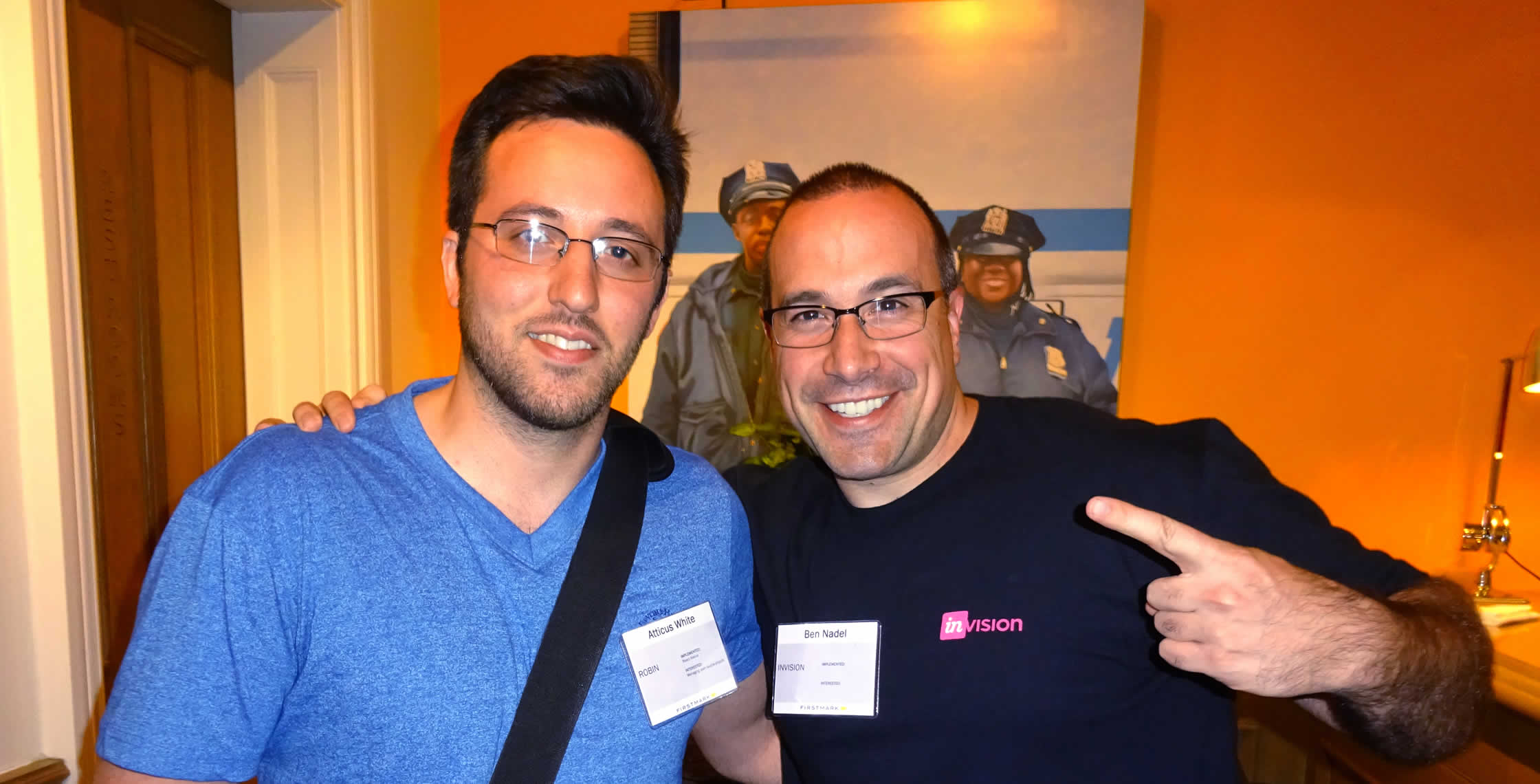Ben Nadel at FirstMark Tech Summit (New York, NY) with: Atticus White