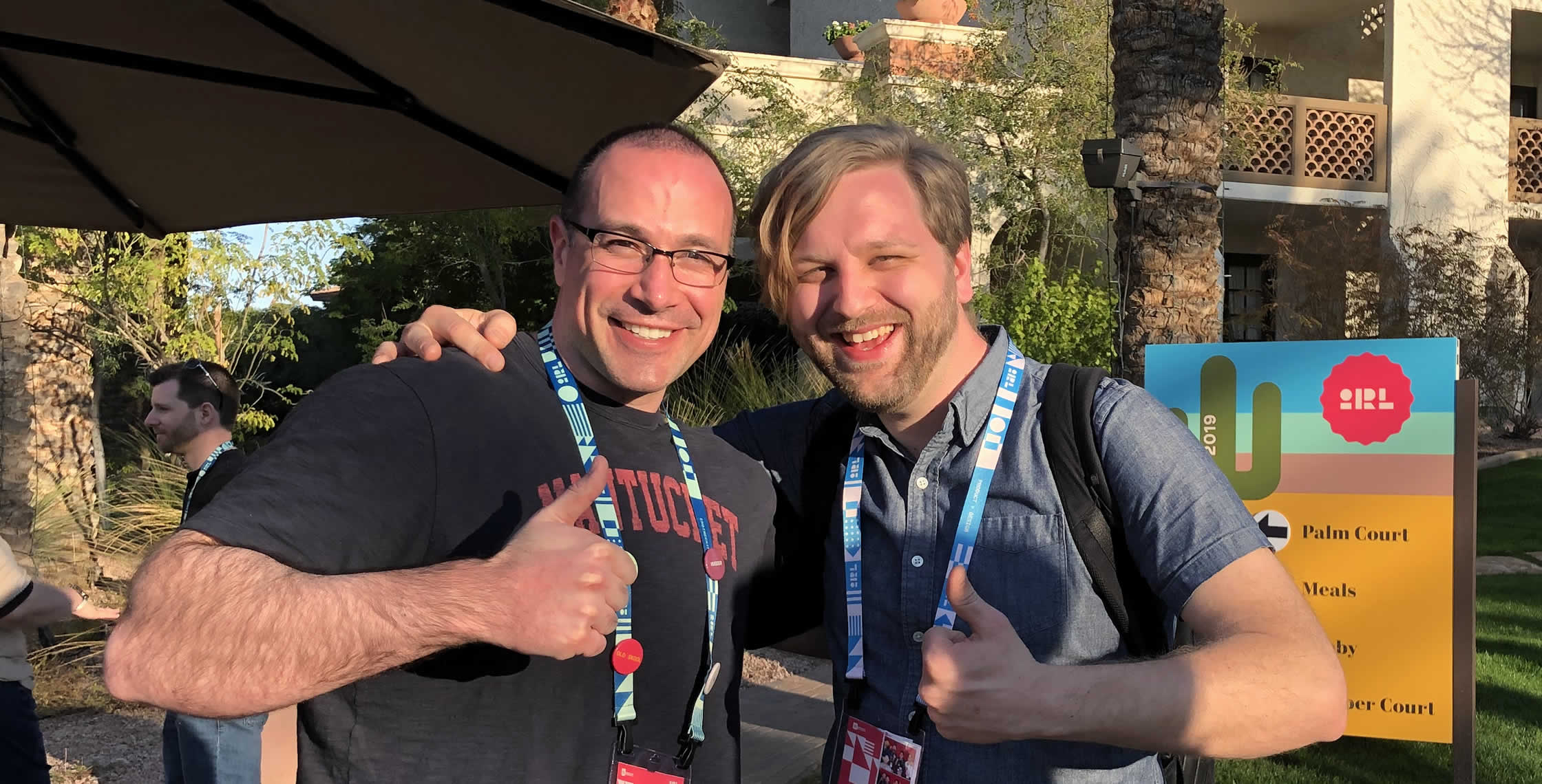 Ben Nadel at InVision In Real Life (IRL) 2019 (Phoenix, AZ) with: Ben Michel