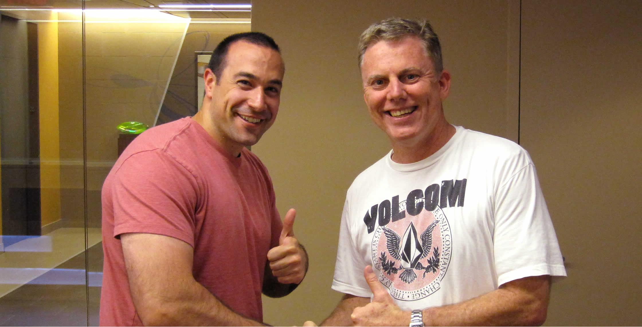 Ben Nadel at InVision Office 2012 (New York City) with: Bill Nourse