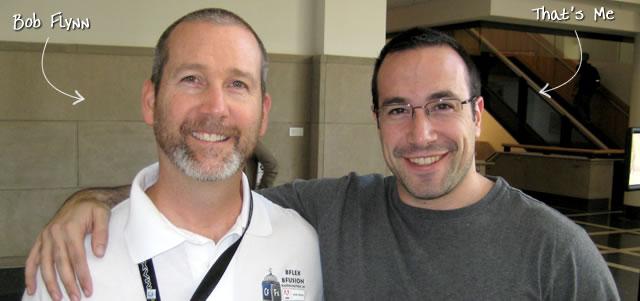 Ben Nadel at BFusion / BFLEX 2009 (Bloomington, Indiana) with: Bob Flynn