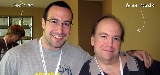 Ben Nadel at CFUNITED 2009 (Lansdowne, VA) with: Brian Meloche