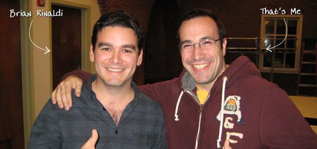 Ben Nadel at RIA Unleashed (Nov. 2009) with: Brian Rinaldi