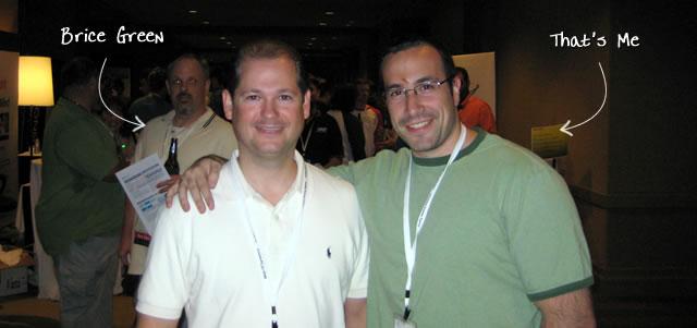 Ben Nadel at CFUNITED 2009 (Lansdowne, VA) with: Brice Green