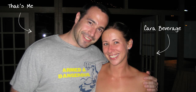 Ben Nadel at CFUNITED 2009 (Lansdowne, VA) with: Cara Beverage