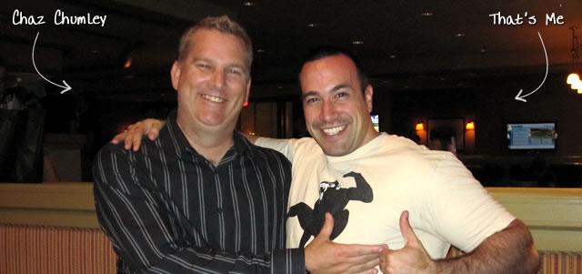 Ben Nadel at CFUNITED 2010 (Landsdown, VA) with: Chaz Chumley