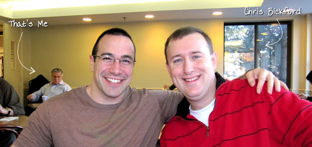 Ben Nadel at RIA Unleashed (Nov. 2010) with: Chris Bickford