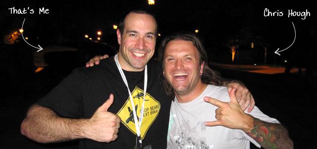 Ben Nadel at CFUNITED 2010 (Landsdown, VA) with: Chris Hough