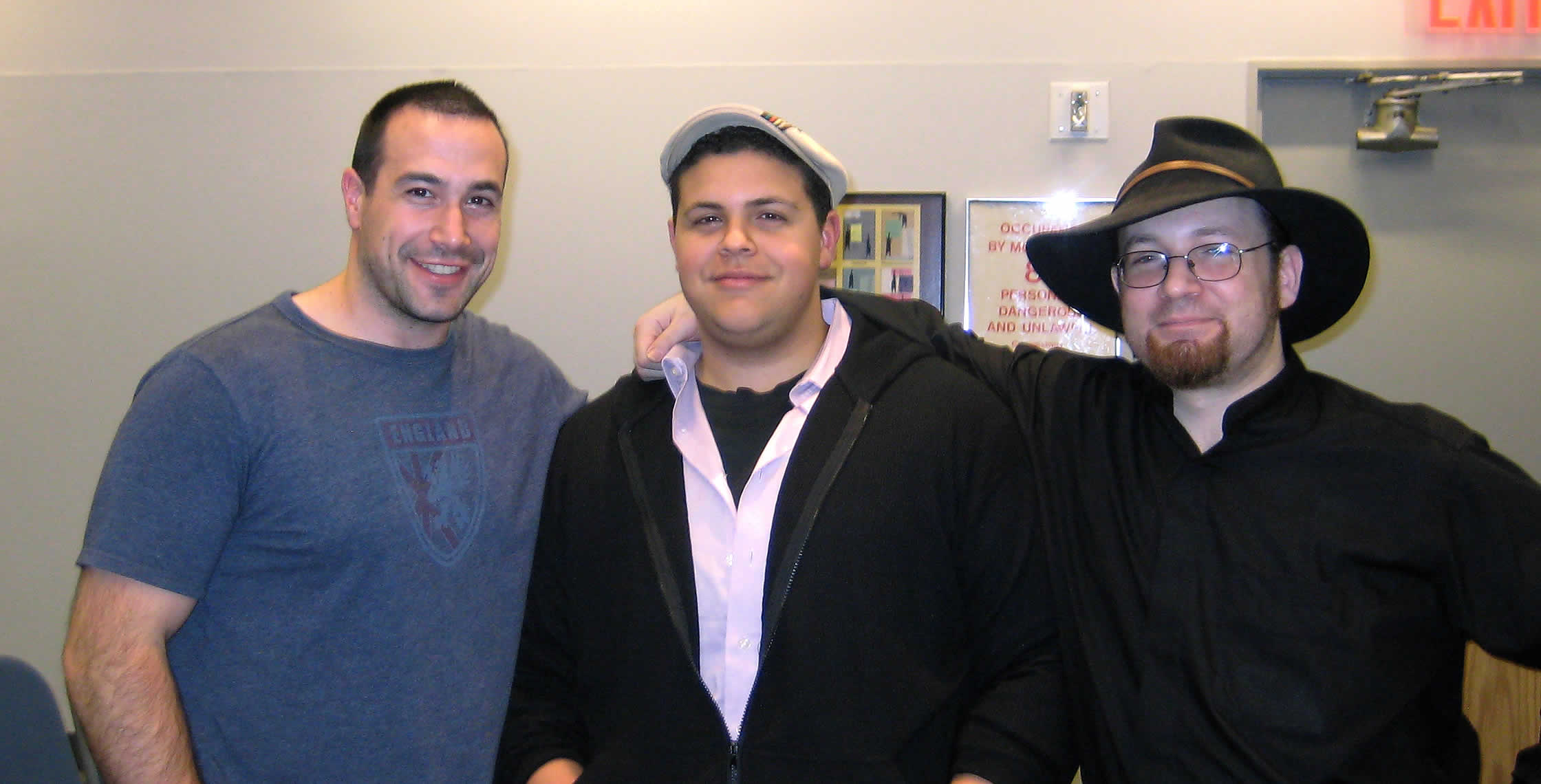 Ben Nadel at the New York ColdFusion User Group (Dec. 2008) with: Clark Valberg and Michael Dinowitz