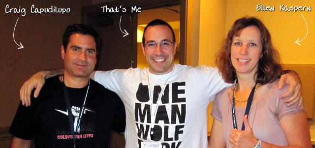 Ben Nadel at CFUNITED 2010 (Landsdown, VA) with: Ellen Kaspern and Craig Capudilupo