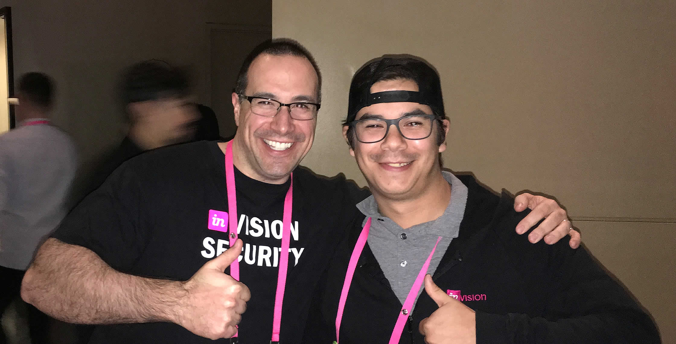 Ben Nadel at InVision In Real Life (IRL) 2018 (Hollywood, CA) with: Cristoffer Gallardo