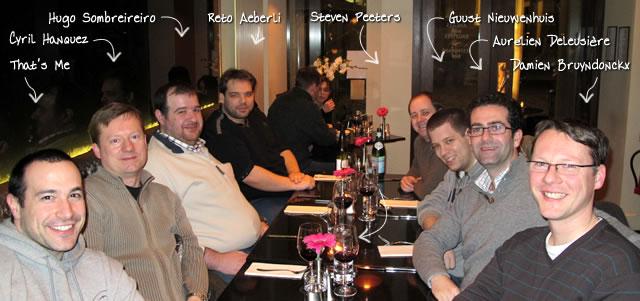 Ben Nadel at Scotch On The Rocks (SOTR) 2011 (Edinburgh) with: Cyril Hanquez, Hugo Sombreireiro, Reto Aeberli, Steven Peeters, Guust Nieuwenhuis, Aurélien Deleusière, and Damien Bruyndonckx