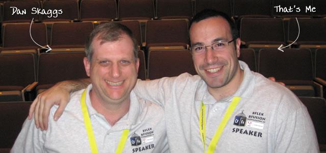 Ben Nadel at BFusion / BFLEX 2009 (Bloomington, Indiana) with: Dan Skaggs