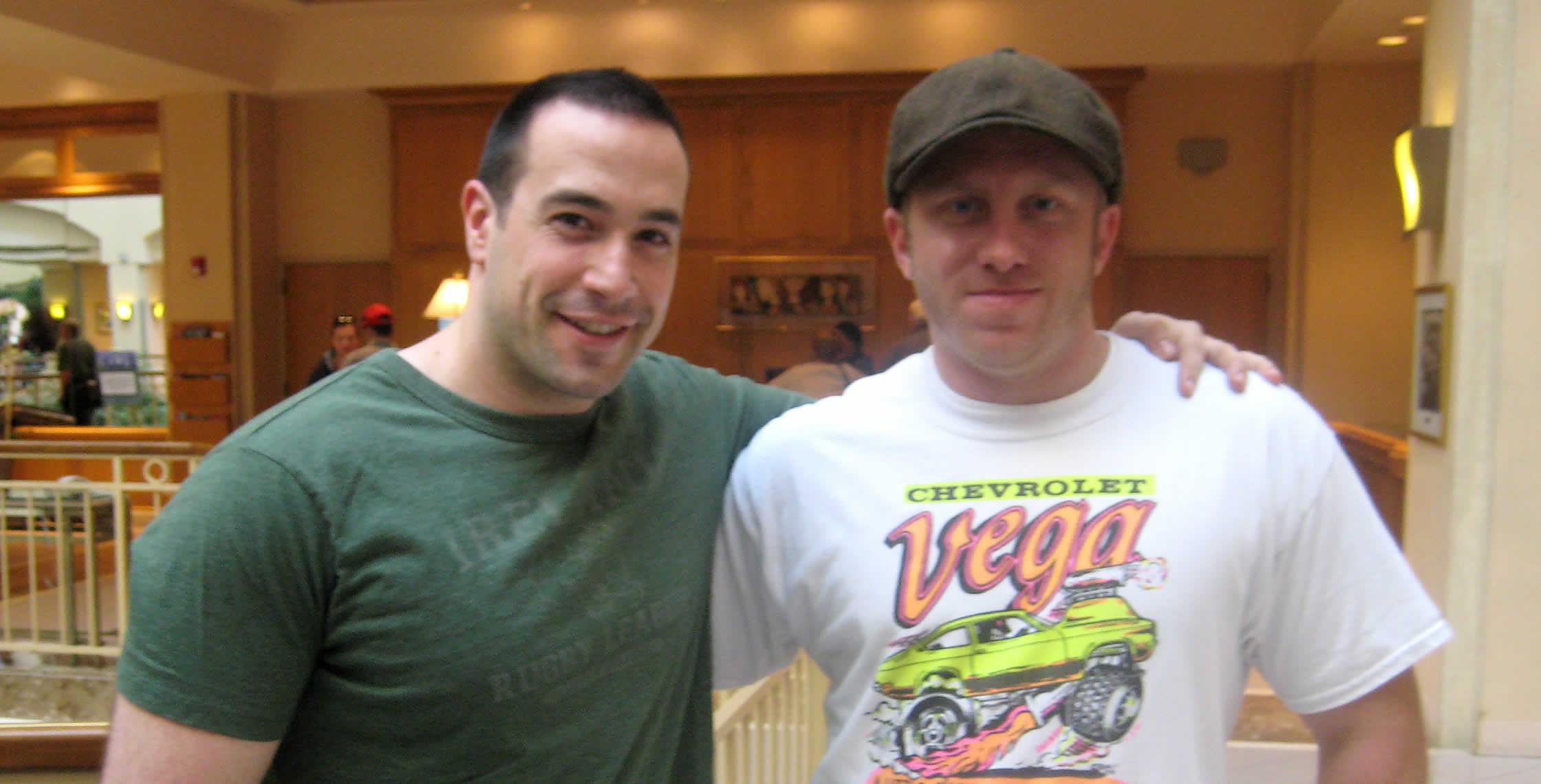 Ben Nadel at CFUNITED 2008 (Washington, D.C.) with: Dan Vega