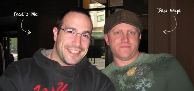 Ben Nadel at cf.Objective() 2009 (Minneapolis, MN) with: Dan Vega