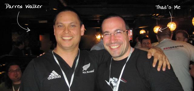 Ben Nadel at Scotch On The Rock (SOTR) 2010 (London) with: Darren Walker