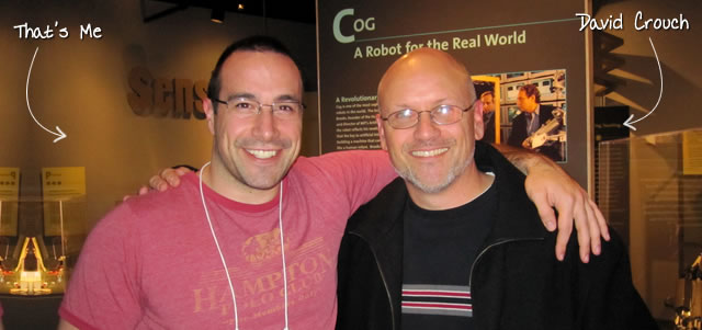 Ben Nadel at RIA Unleashed (Nov. 2010) with: David Crouch