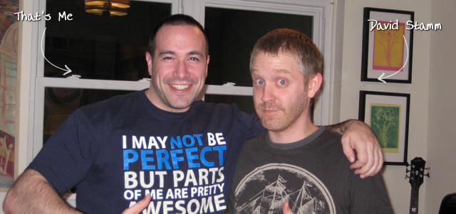 Ben Nadel at the Stammari Suberbowl XLIV Party (Feb. 2010) with: David Stamm
