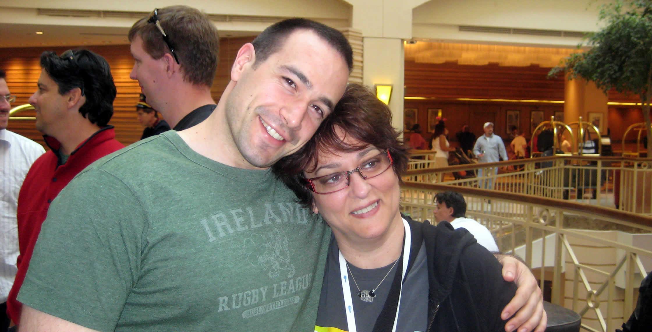Ben Nadel at CFUNITED 2008 (Washington, D.C.) with: Dee Sadler