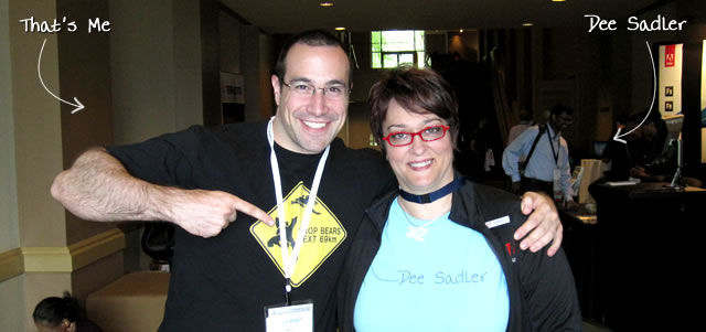 Ben Nadel at CFUNITED 2010 (Landsdown, VA) with: Dee Sadler