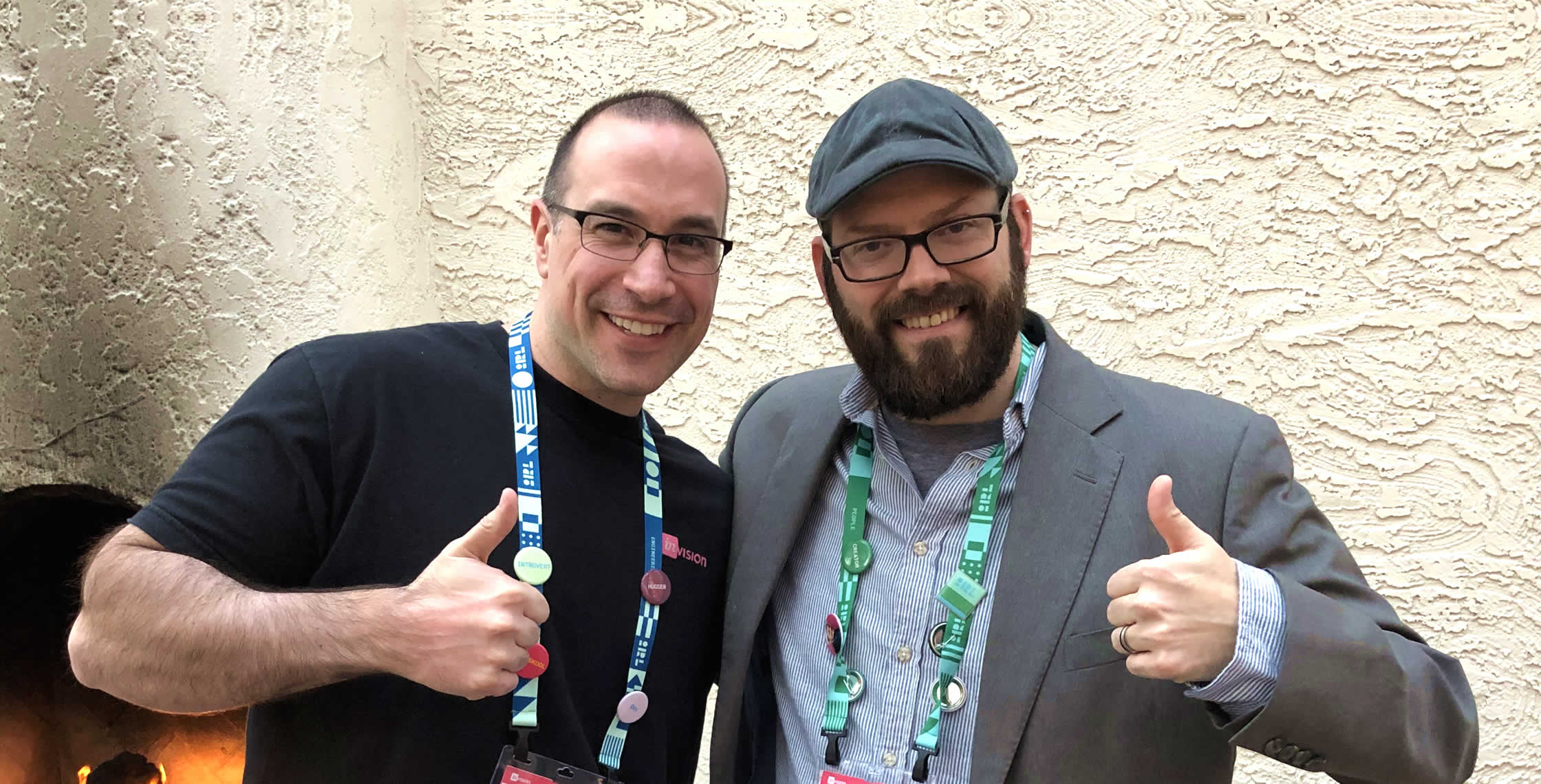 Ben Nadel at InVision In Real Life (IRL) 2019 (Phoenix, AZ) with: Dennis Field