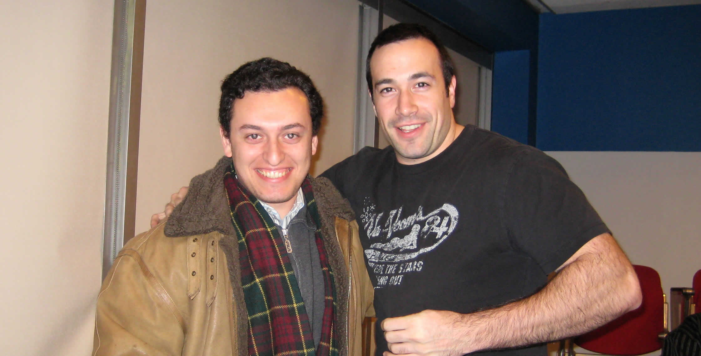 Ben Nadel at the New York ColdFusion User Group (Feb. 2008) with: Dmitriy Goltseker