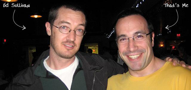 Ben Nadel at RIA Unleashed (Nov. 2009) with: Ed Sullivan