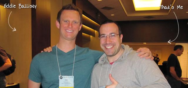 Ben Nadel at cf.Objective() 2011 (Minneapolis, MN) with: Eddie Ballisty