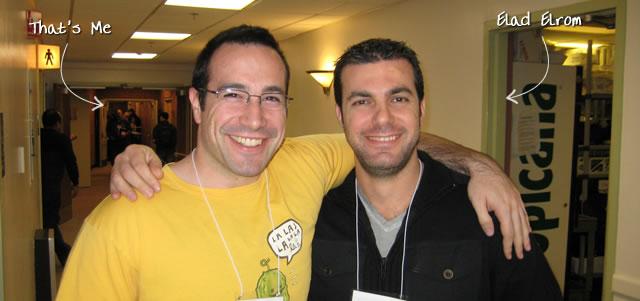 Ben Nadel at RIA Unleashed (Nov. 2009) with: Elad Elrom