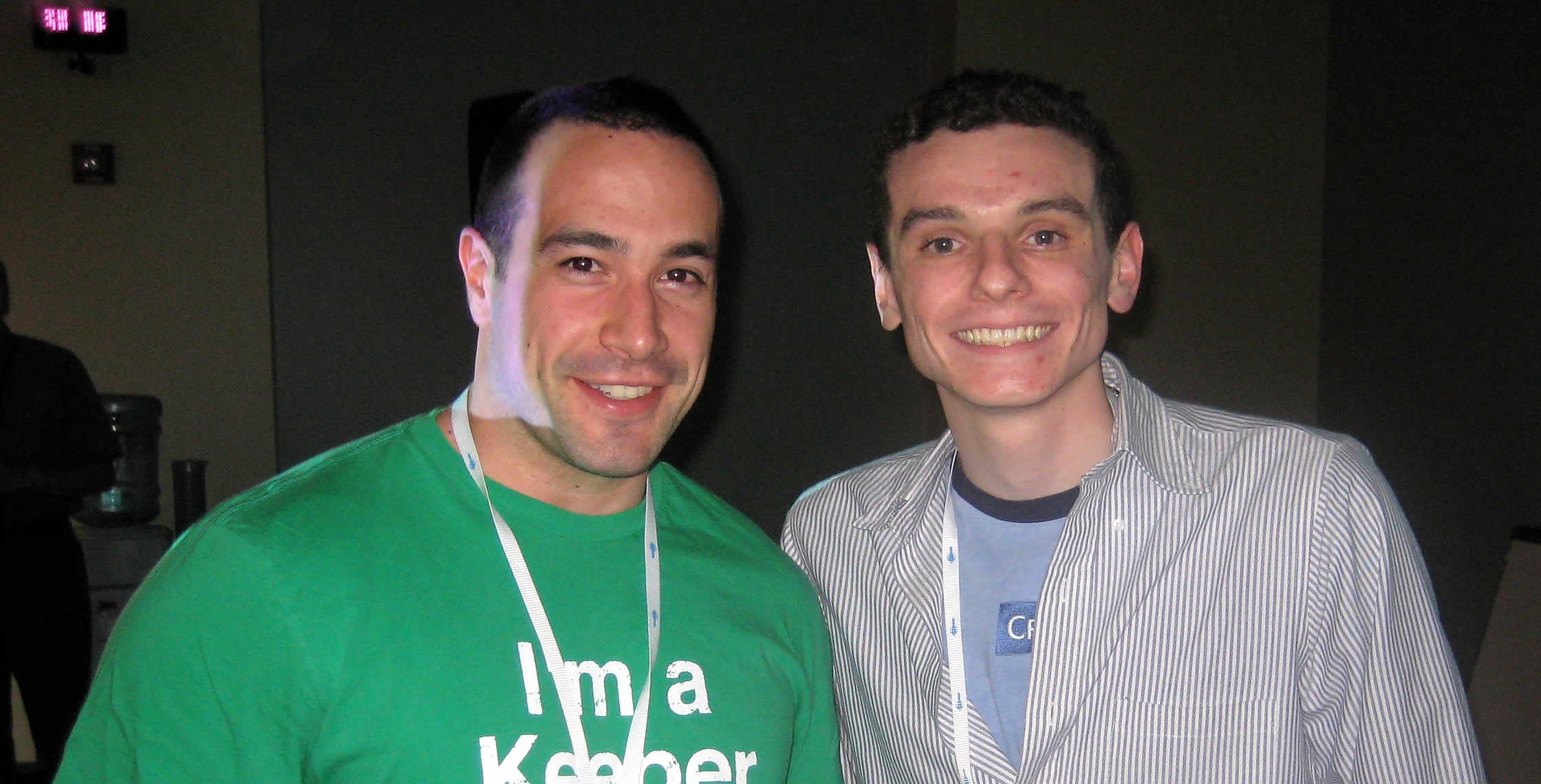 Ben Nadel at CFUNITED 2008 (Washington, D.C.) with: Elliott Sprehn