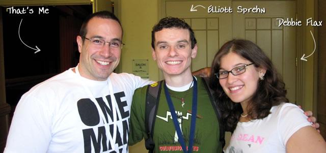 Ben Nadel at CFUNITED 2010 (Landsdown, VA) with: Elliott Sprehn and Debbie Flax