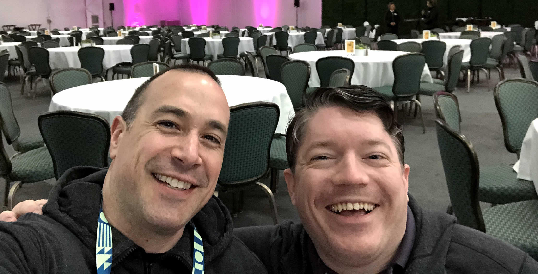 Ben Nadel at InVision In Real Life (IRL) 2019 (Phoenix, AZ) with: Eric Betts
