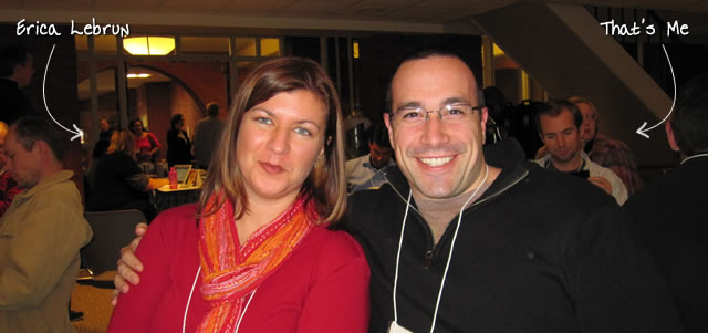 Ben Nadel at RIA Unleashed (Nov. 2010) with: Erica Lebrun
