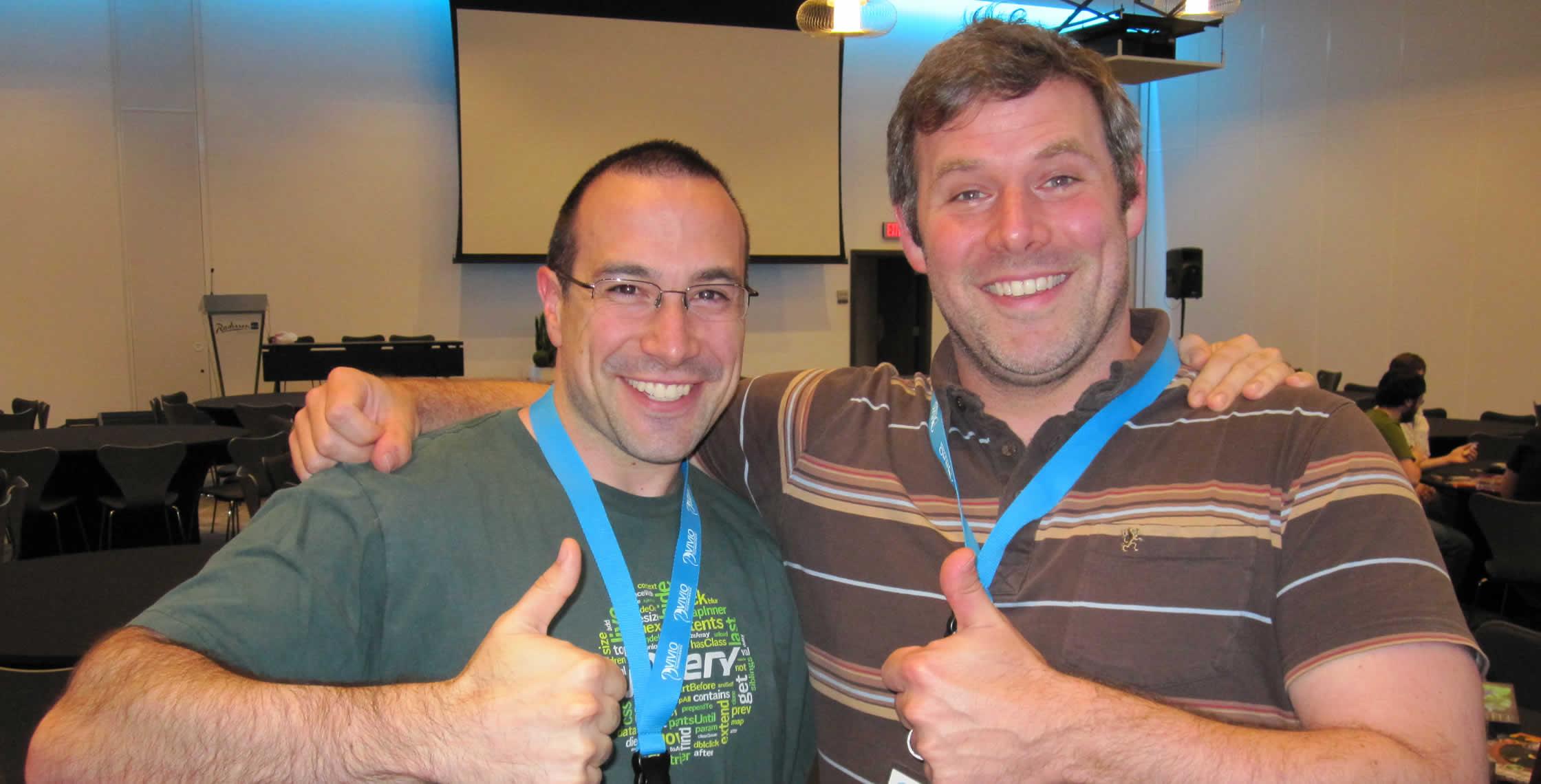 Ben Nadel at cf.Objective() 2013 (Bloomington, MN) with: Erik Meier