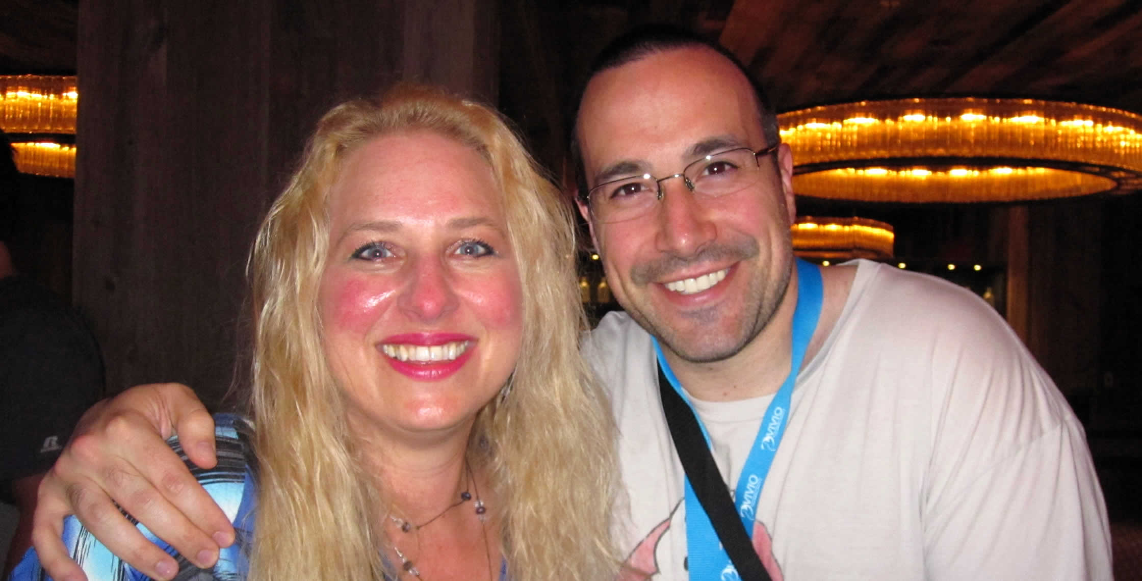 Ben Nadel at cf.Objective() 2013 (Bloomington, MN) with: Heather Harkins