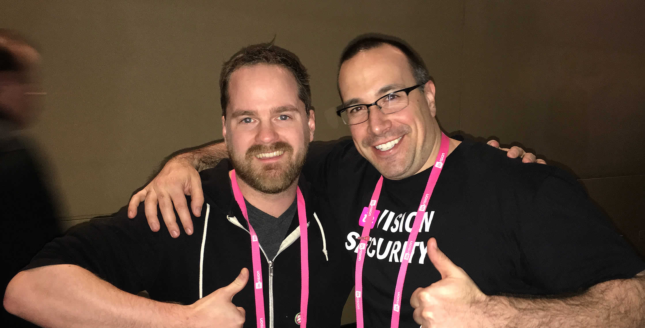 Ben Nadel at InVision In Real Life (IRL) 2018 (Hollywood, CA) with: Henry Hollenstain