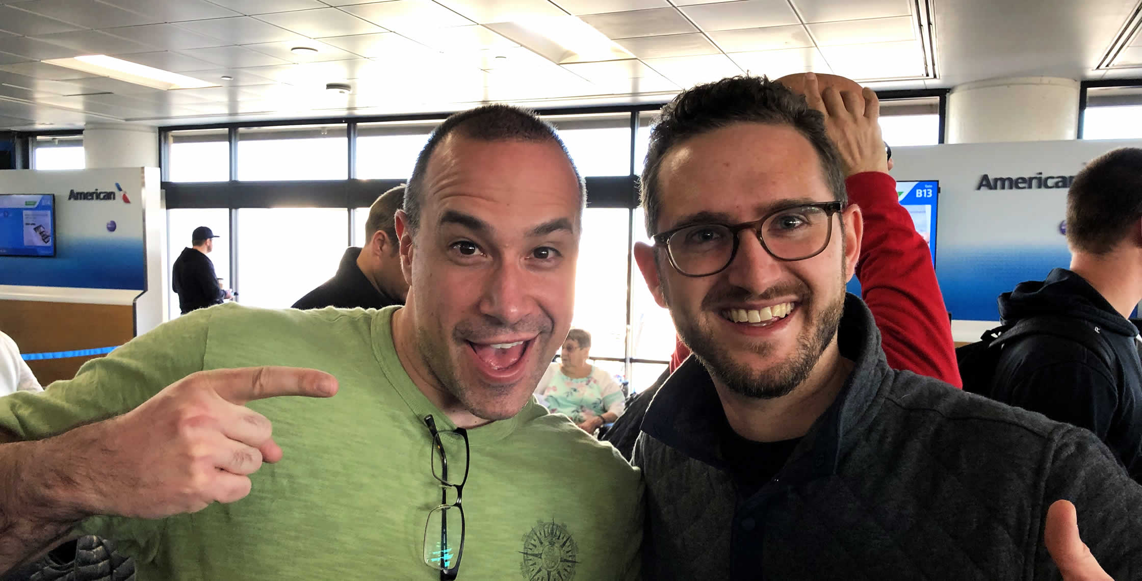Ben Nadel at InVision In Real Life (IRL) 2019 (Phoenix, AZ) with: Jackson Dowell