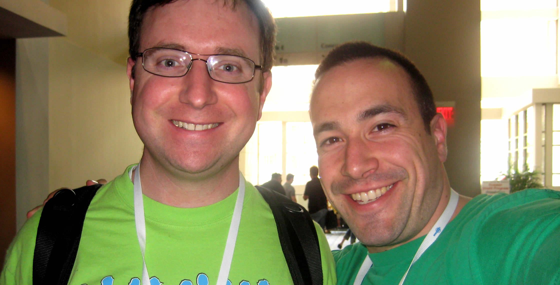 Ben Nadel at CFUNITED 2008 (Washington, D.C.) with: Jacob Munson