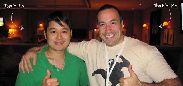 Ben Nadel at CFUNITED 2010 (Landsdown, VA) with: Jamie Ly