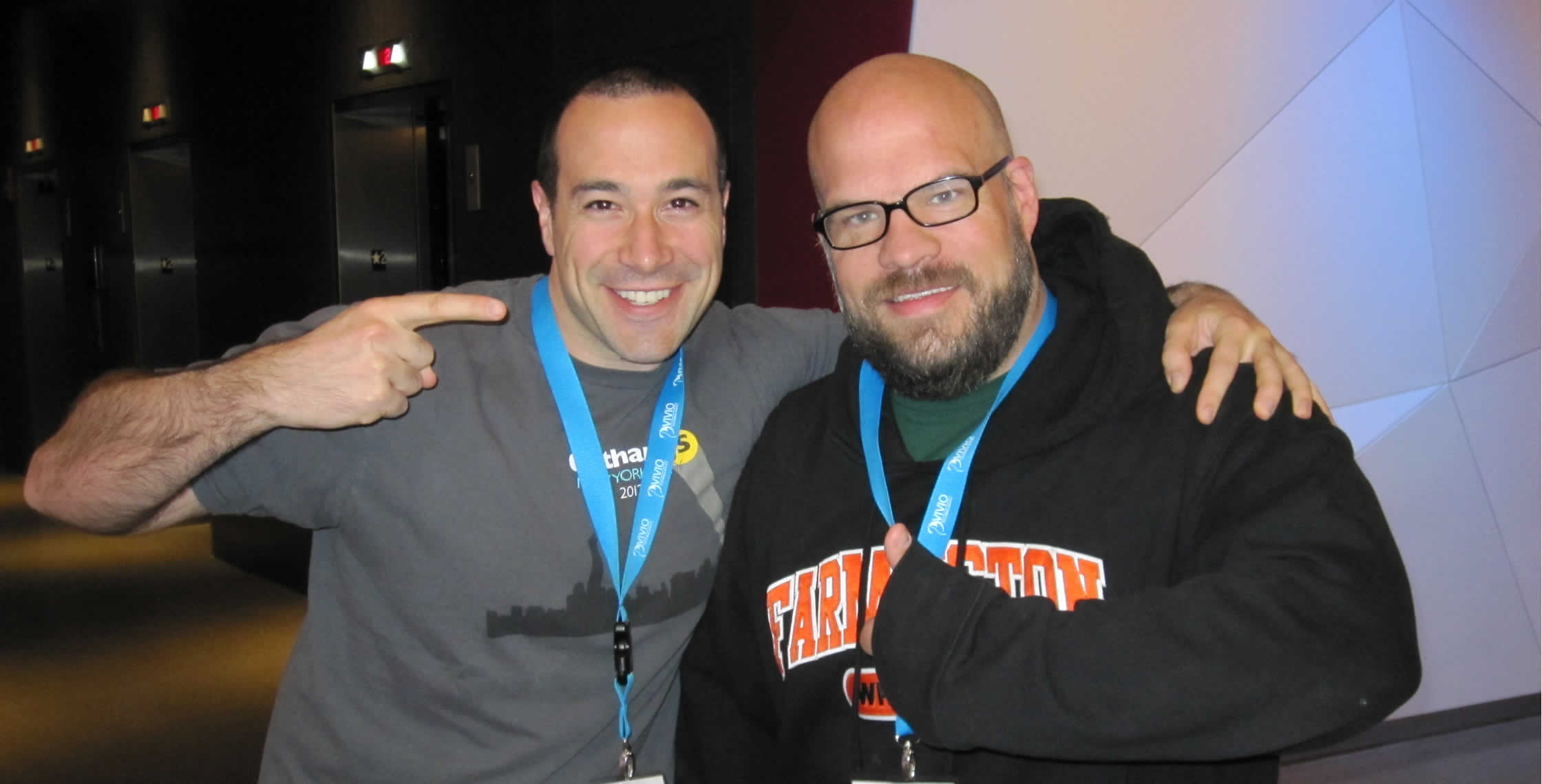 Ben Nadel at cf.Objective() 2013 (Bloomington, MN) with: Jason Dean
