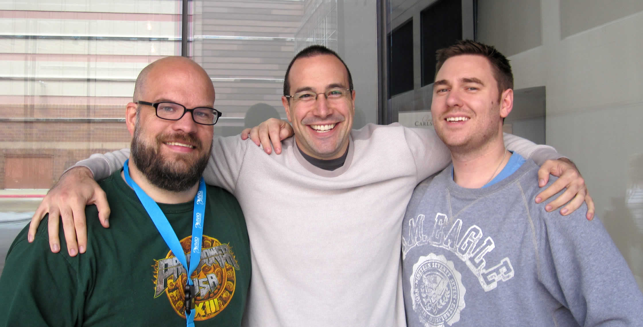 Ben Nadel at cf.Objective() 2013 (Bloomington, MN) with: Jason Dean and Simon Free