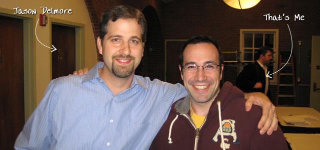 Ben Nadel at RIA Unleashed (Nov. 2009) with: Jason Delmore