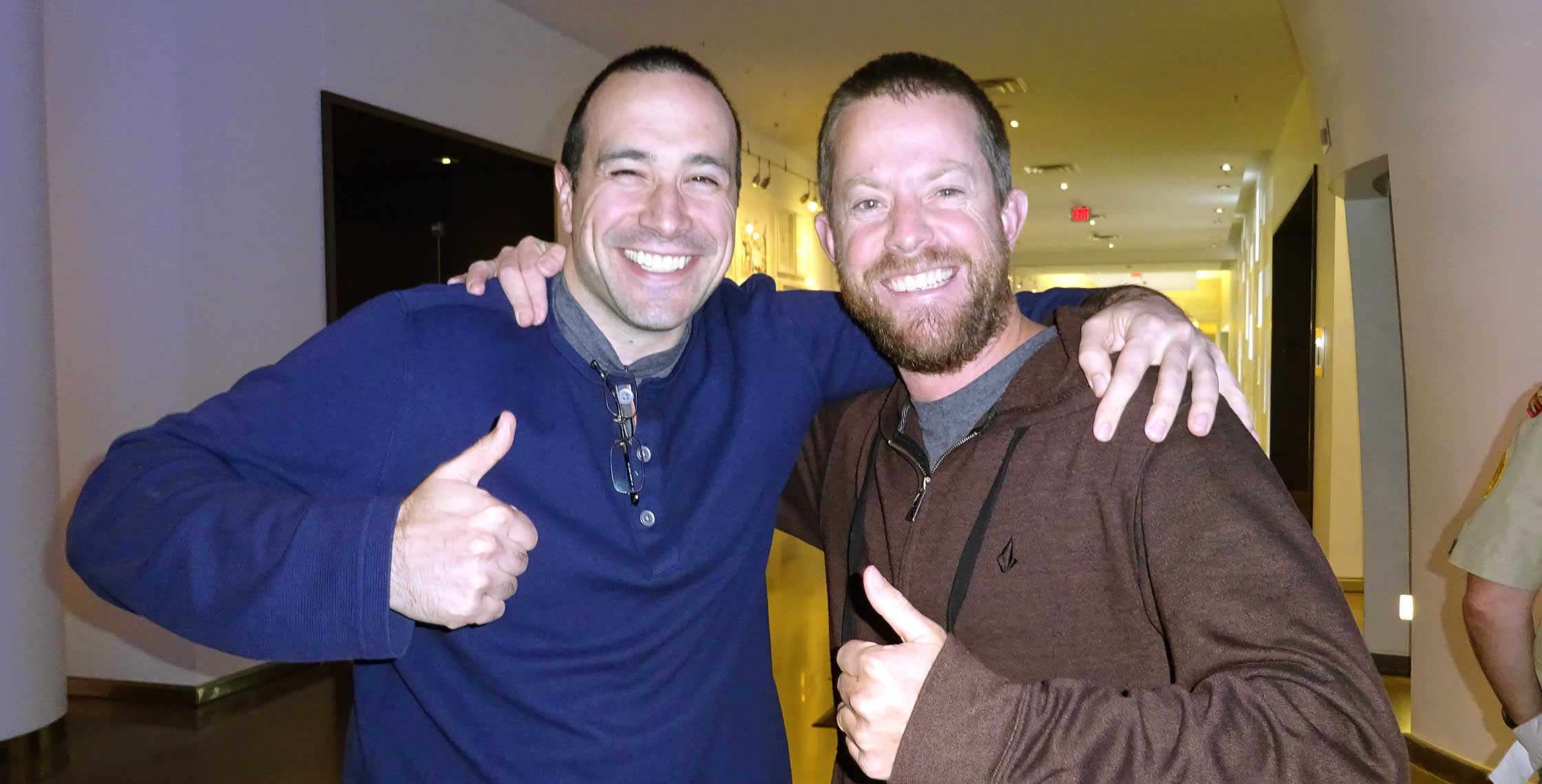 Ben Nadel at cf.Objective() 2014 (Bloomington, MN) with: Jeff McDowell