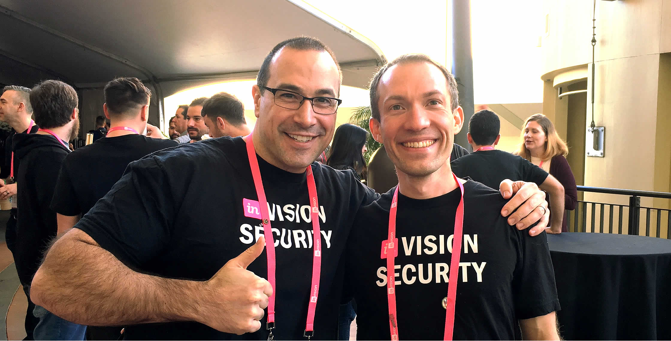 Ben Nadel at InVision In Real Life (IRL) 2018 (Hollywood, CA) with: Jeremy Mount